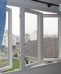 Cửa sổ nhôm Việt Nhật mở quay 2 cánh
