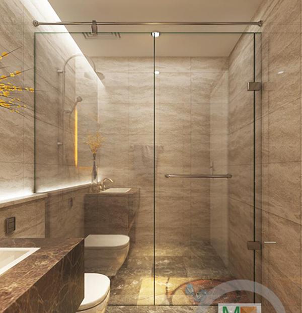 Phòng tắm kính cường lực cao cấp với những công dụng tuyệt vời